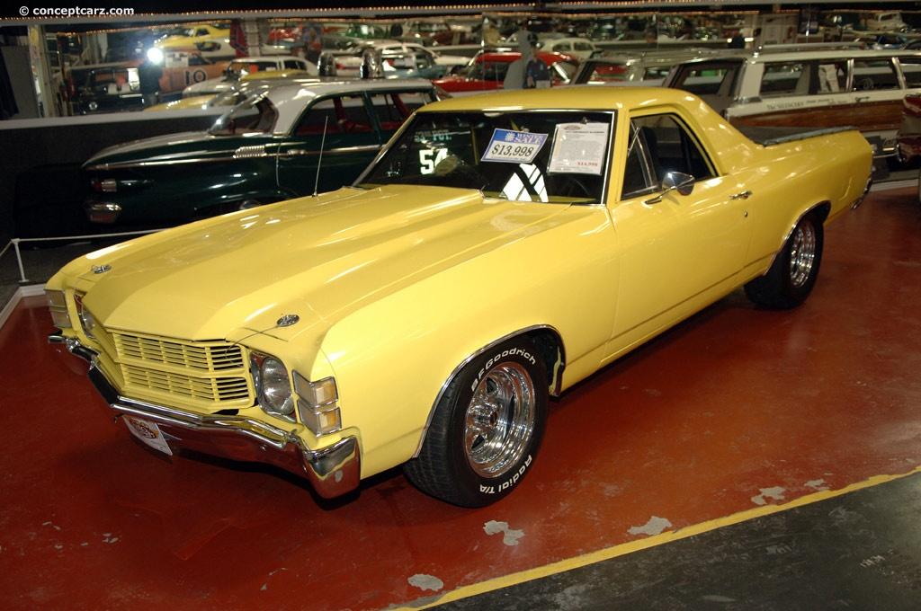 1971 Chevrolet El Camino Conceptcarz Com