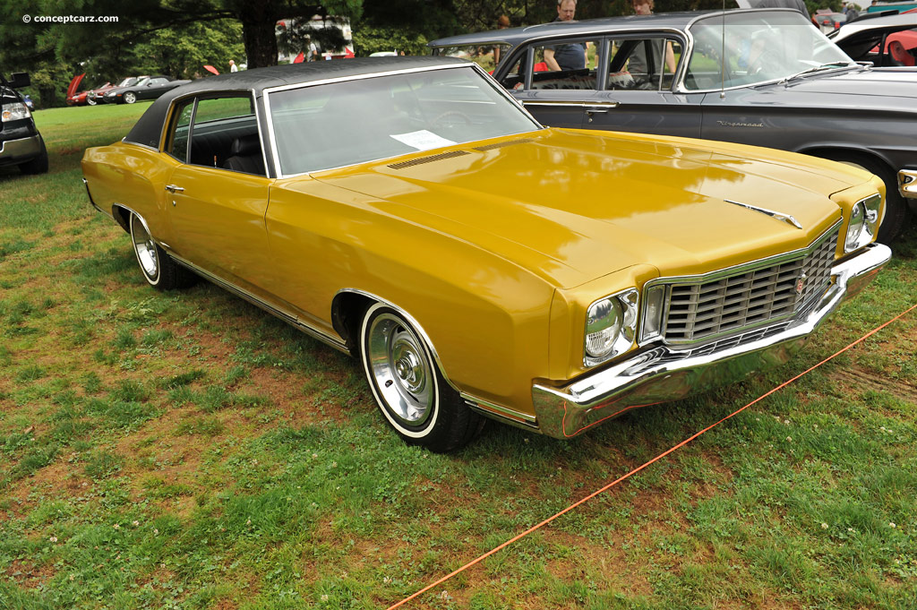 1972 Chevrolet Monte Carlo Pictures History Value