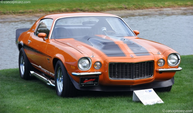 1973 Chevrolet Camaro chassis information