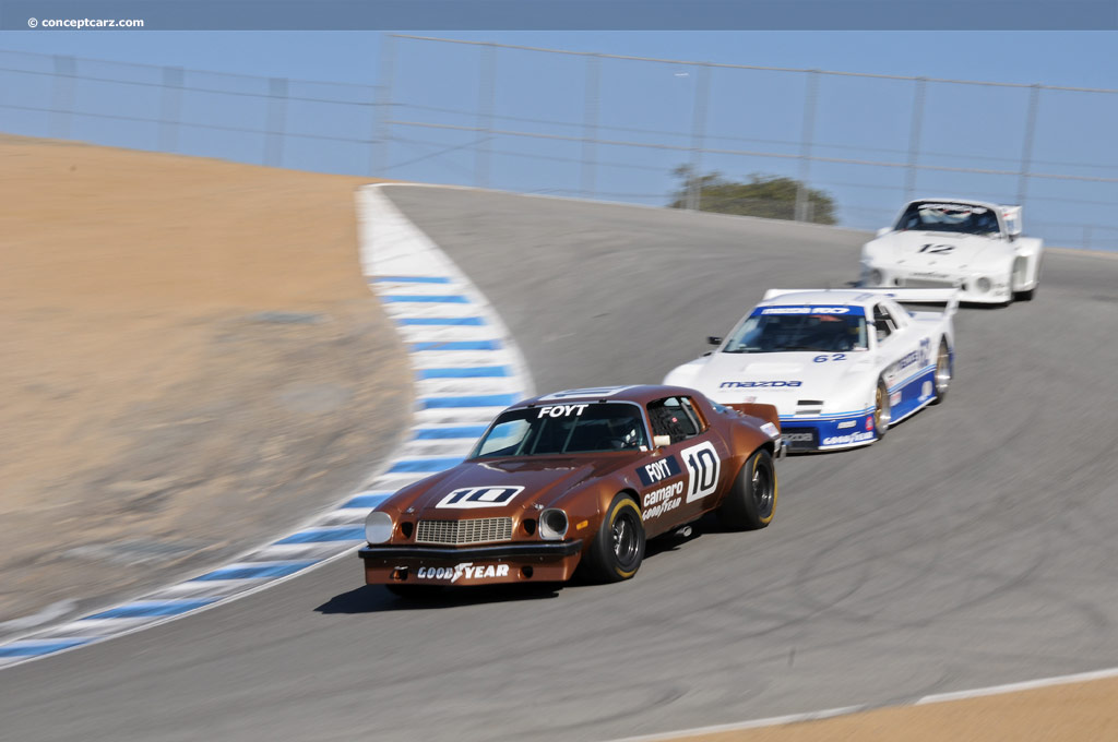 1974 Chevrolet Camaro Iroc Race Car Image Chassis Number