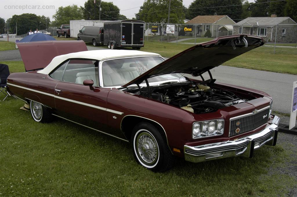 1975 Chevrolet Caprice Classic At The Carlisle All Gm