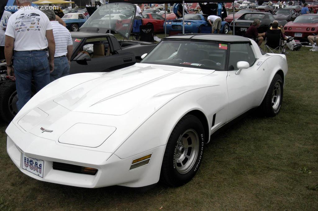 Chevy Corvette White Ac Cc