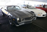 1981 Chevrolet Camaro.  Chassis number 1G1AP87LXBL172495