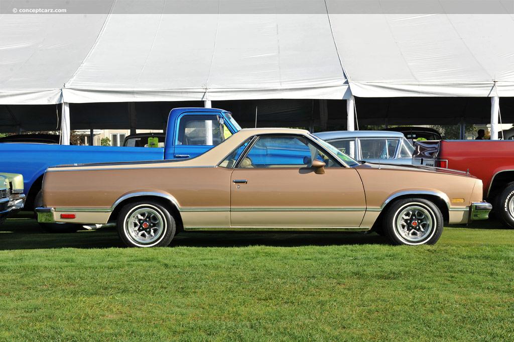 1982 Chevrolet El Camino Pictures History Value