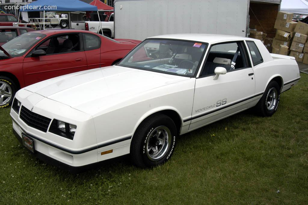 1983 Chevrolet Monte Carlo History Pictures Value