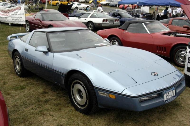 1984 chevrolet corvette c4 history pictures value. Black Bedroom Furniture Sets. Home Design Ideas