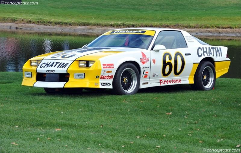1985 Chevrolet Camaro Firestone Firehawk Series