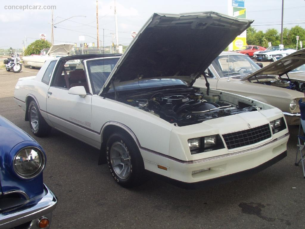 Auction Results and Sales Data for 1986 Chevrolet Monte Carlo