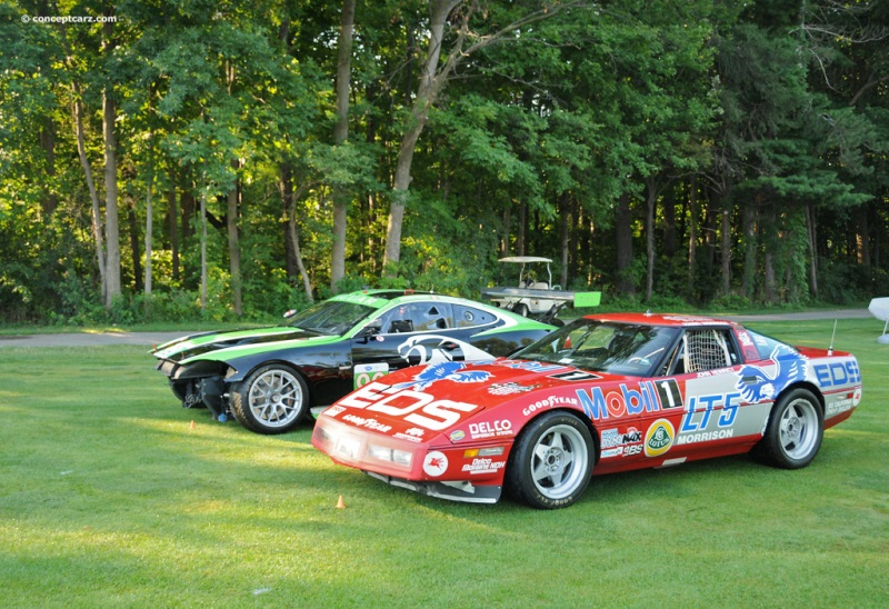 1990 Chevrolet Corvette C4 chassis information