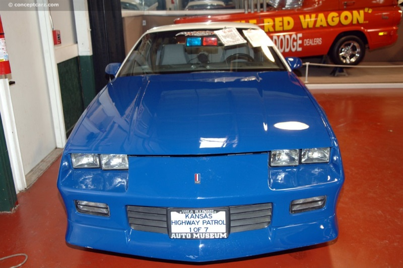 1992 Chevrolet Camaro chassis information