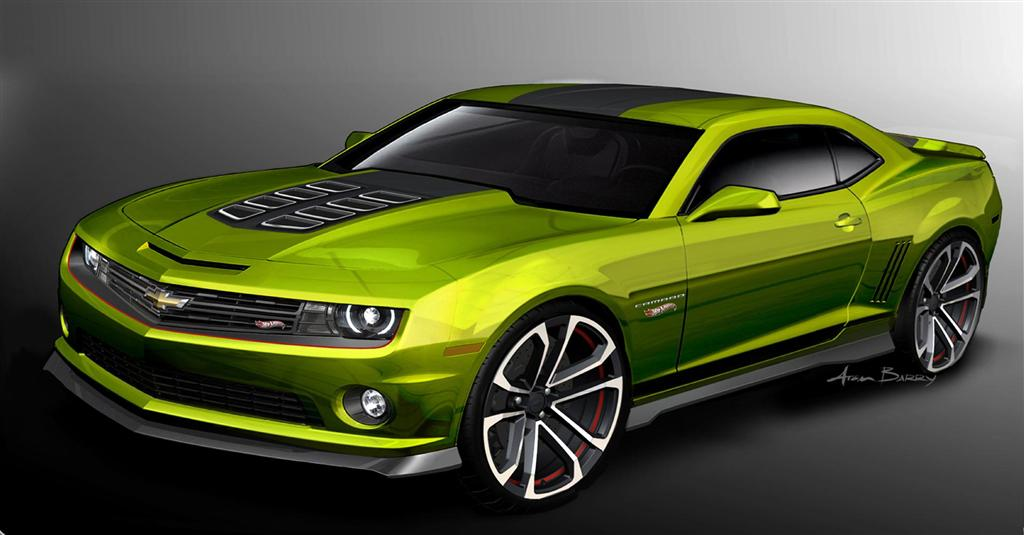 2011 Chevrolet Camaro Hot Wheels Concept News And