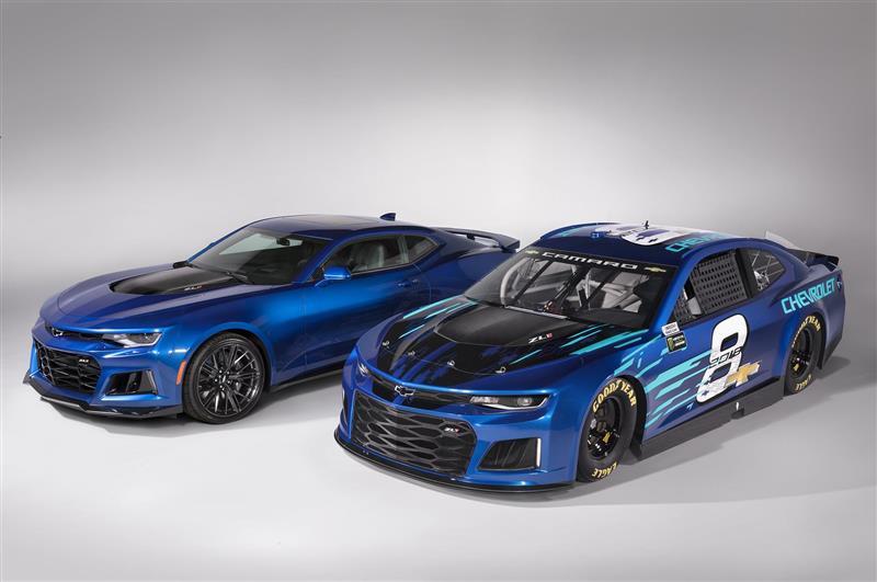 2018 Chevrolet Camaro ZL1 NASCAR News and Information