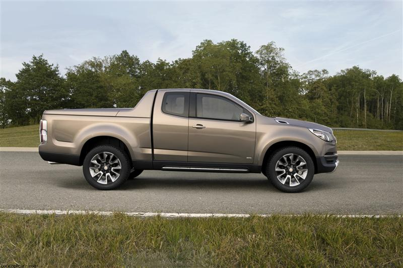2011 Chevrolet Colorado Show Truck News And Information Research