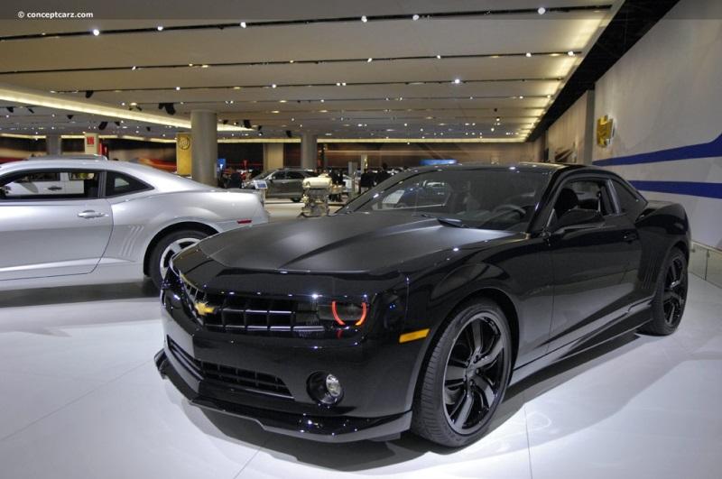 2010 Chevrolet Camaro Black Concept Image Photo 6 Of 22
