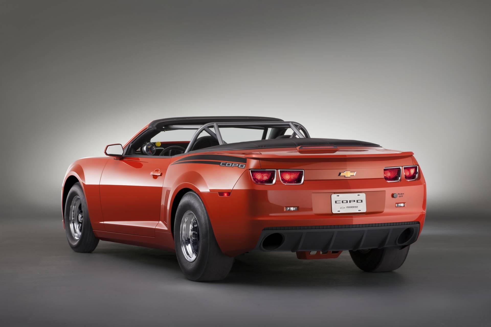 2012 Chevrolet Inferno Orange COPO Camaro