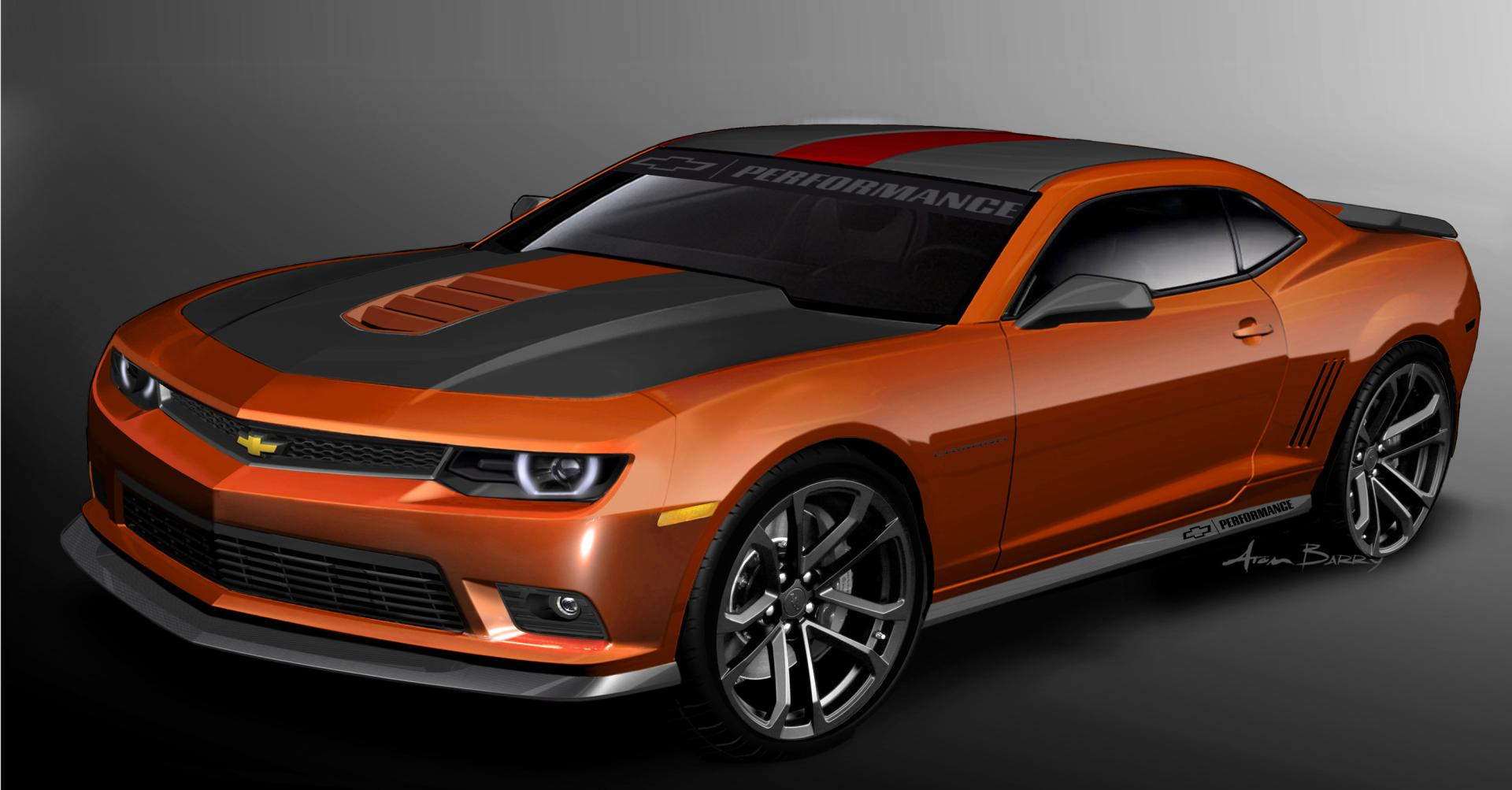 2013 Chevrolet Garage Camaro Concept News And Information