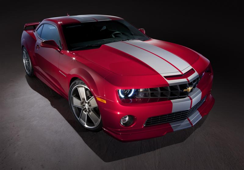 2010 Chevrolet Camaro Red Flash