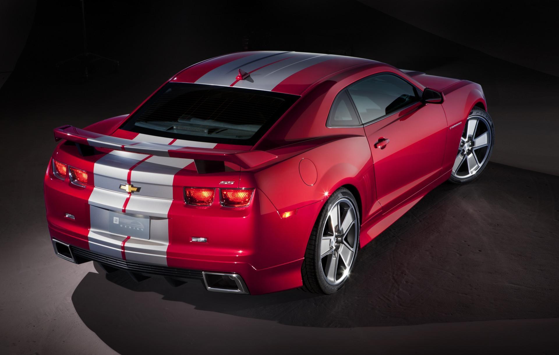 2010 Chevrolet Camaro Red Flash