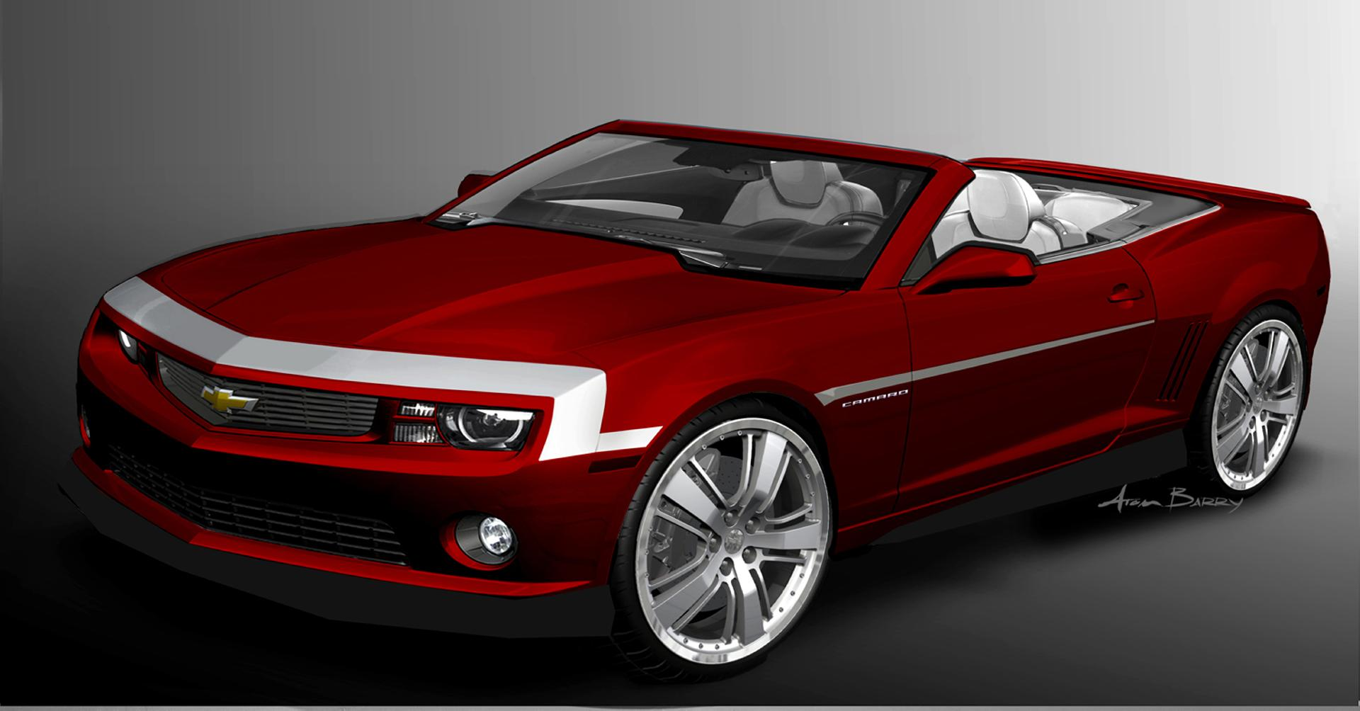 2012 Chevrolet Camaro Red Zone Concept Image Photo 1 Of 3