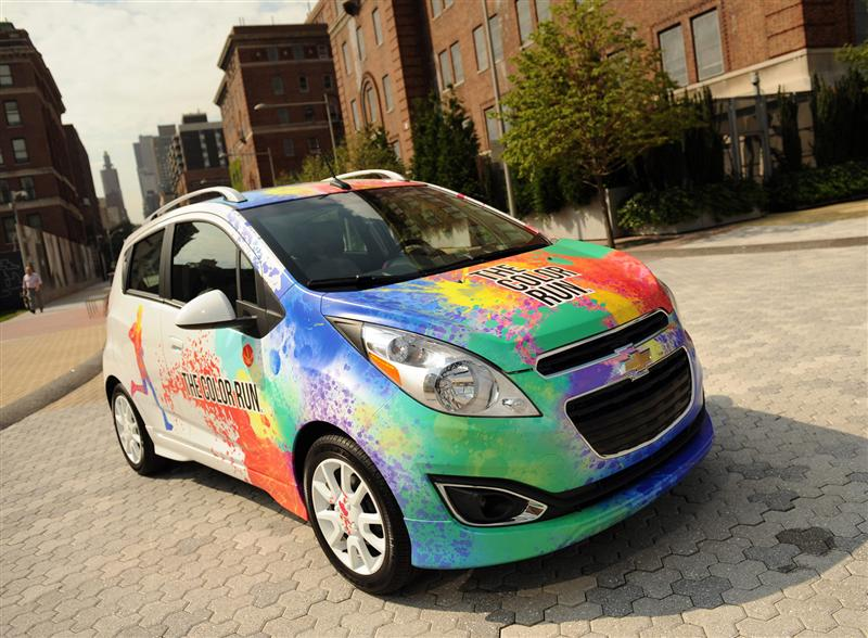 2013 Chevrolet Color Run Spark pictures and wallpaper