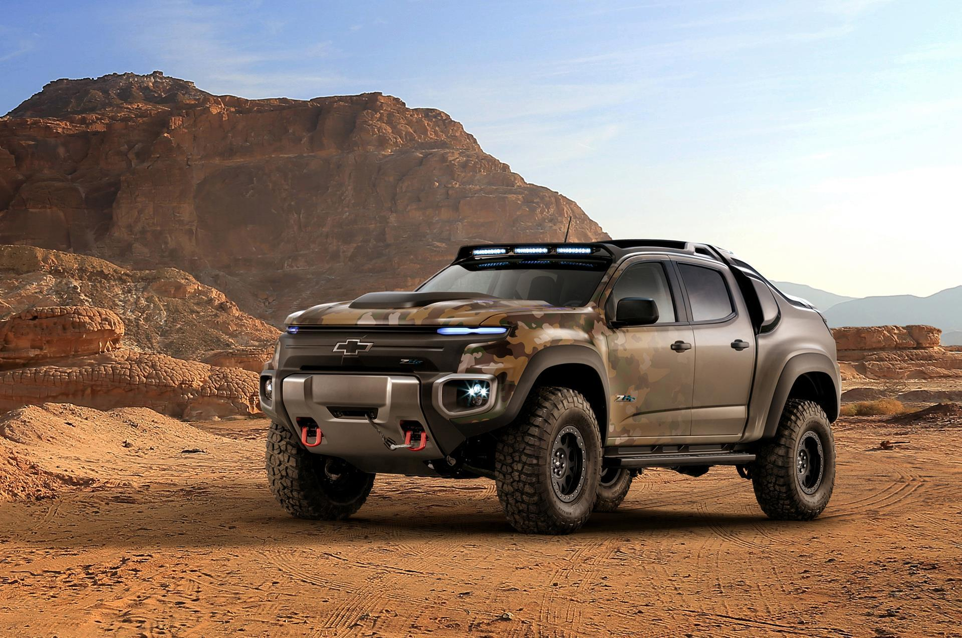 2016 chevrolet colorado zh2 concept pictures news research pricing. Black Bedroom Furniture Sets. Home Design Ideas