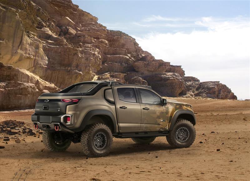 2016 Chevrolet Colorado Zh2 Concept Image Photo 10 Of 11