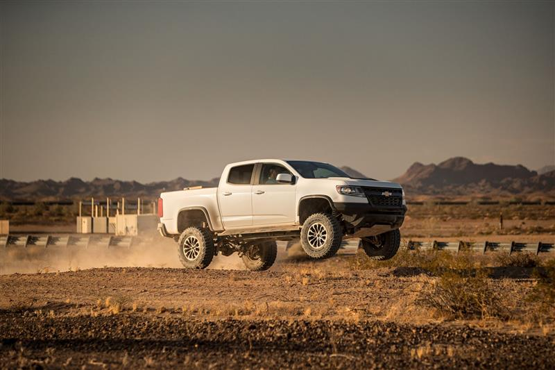 Chevrolet Colorado ZR2 Race Development Truck pictures and wallpaper