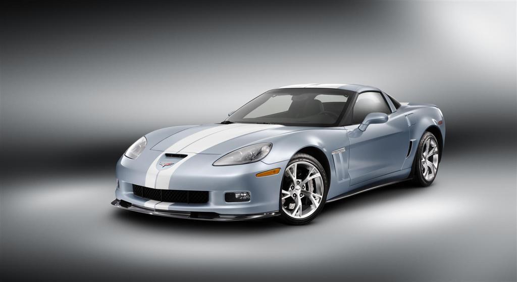 2012 Chevrolet Corvette Carlisle Blue Grand Sport Concept