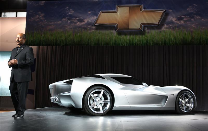 2009 Chevrolet Corvette Stingray Concept Image Photo 8 Of 20
