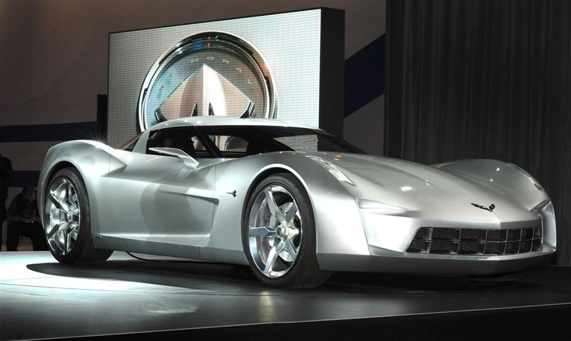 2009 Chevrolet Corvette Stingray Concept Image Photo 7 Of 20