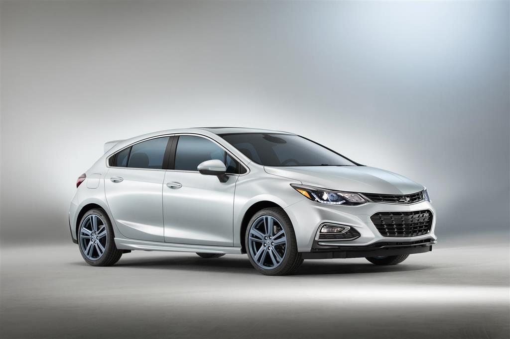 2016 Chevrolet Cruze RS Hatch Blue Line