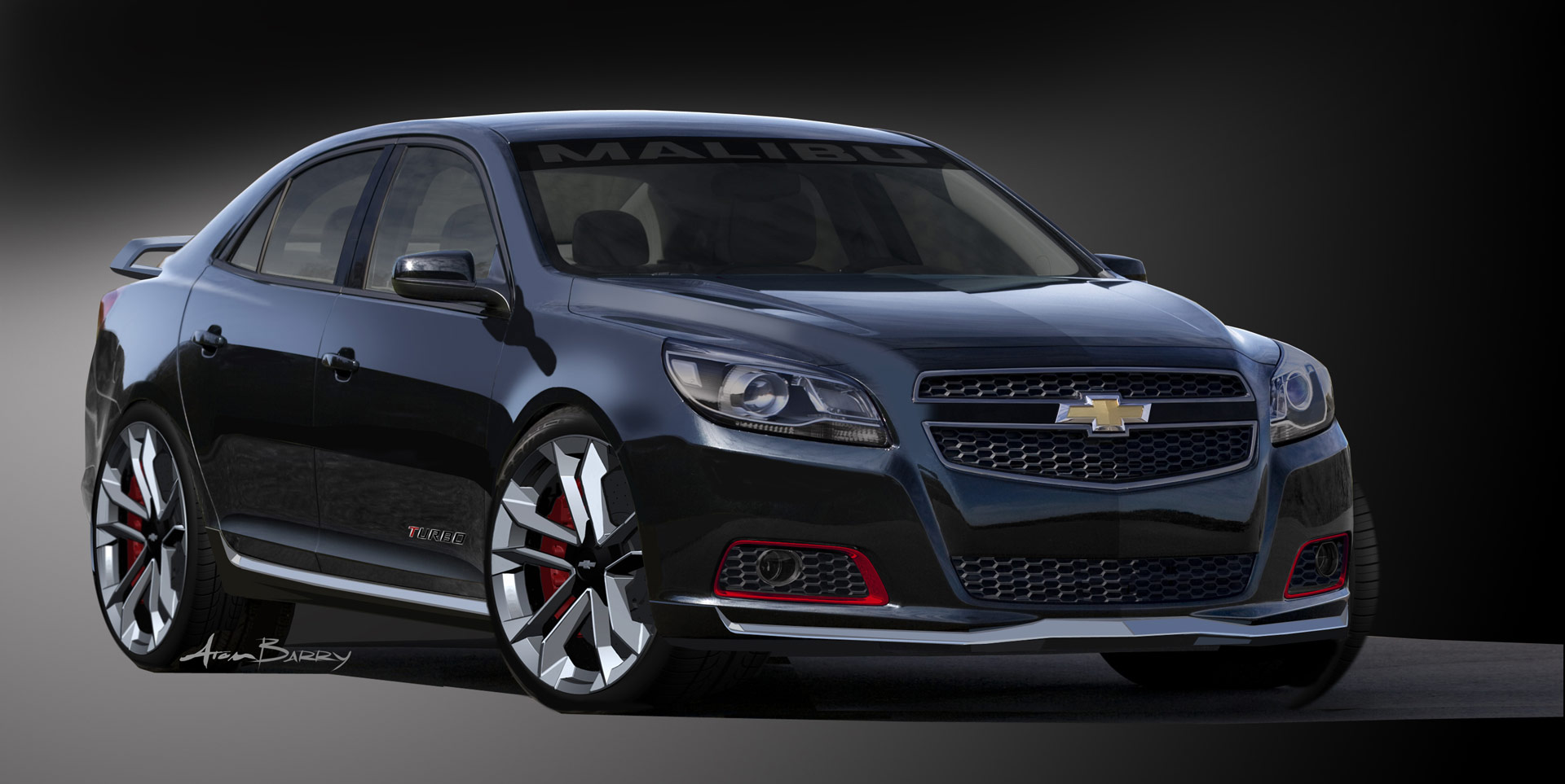 2013 Chevrolet Malibu Turbo Performance Concept News and Information