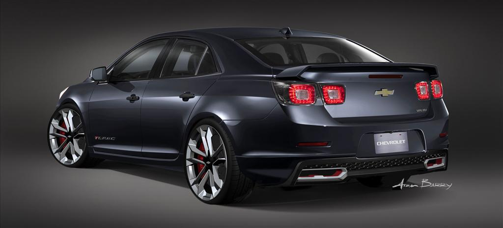 2013 chevrolet malibu turbo performance concept news and information. Black Bedroom Furniture Sets. Home Design Ideas