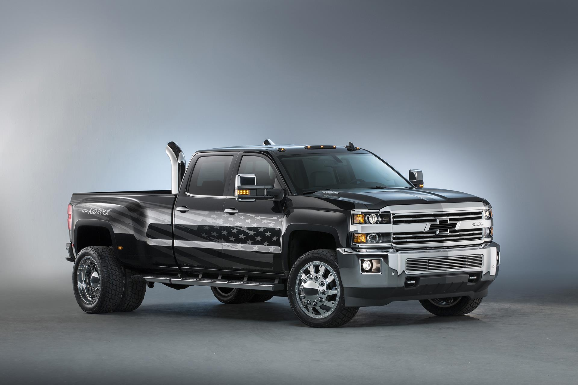 2015 chevrolet silverado 3500hd kid rock concept. Black Bedroom Furniture Sets. Home Design Ideas