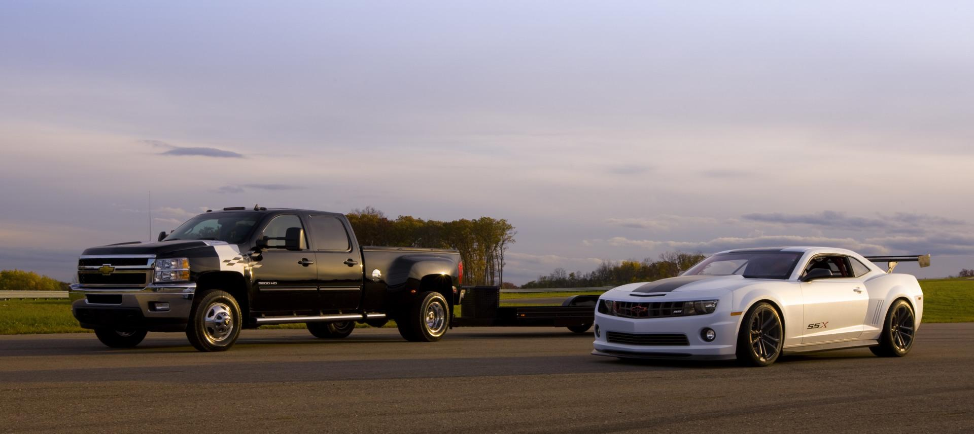 2011 Chevrolet Silverado 3500hd Race Car Hauler