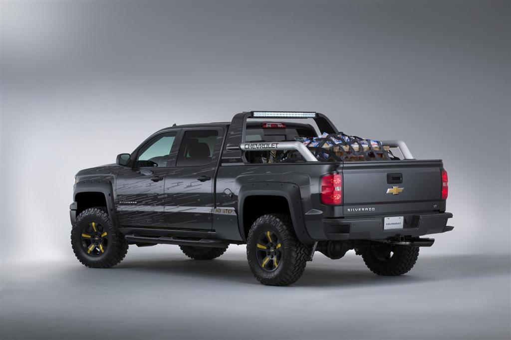 2017 Chevrolet Silverado Black Ops Concept