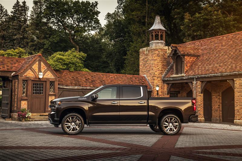 2018 Chevrolet Silverado High Country Concept