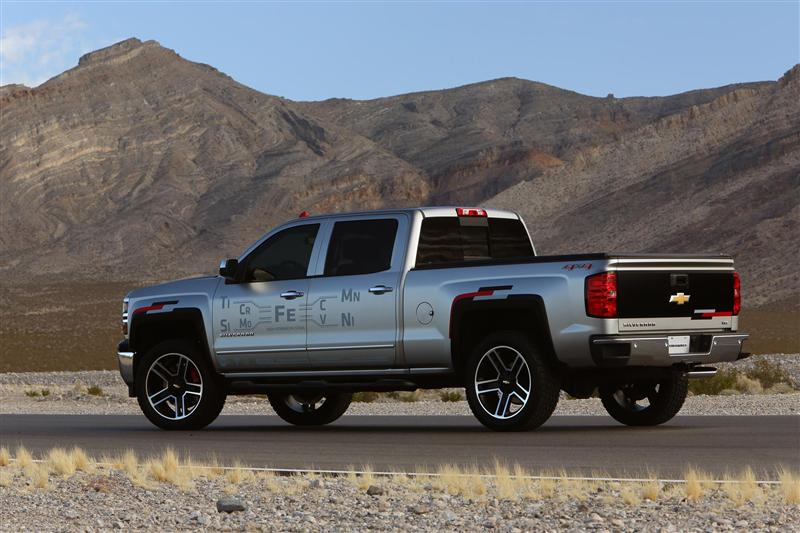 Onstar Navigation Cost >> 2015 Chevrolet Silverado Toughnology Concept News and Information