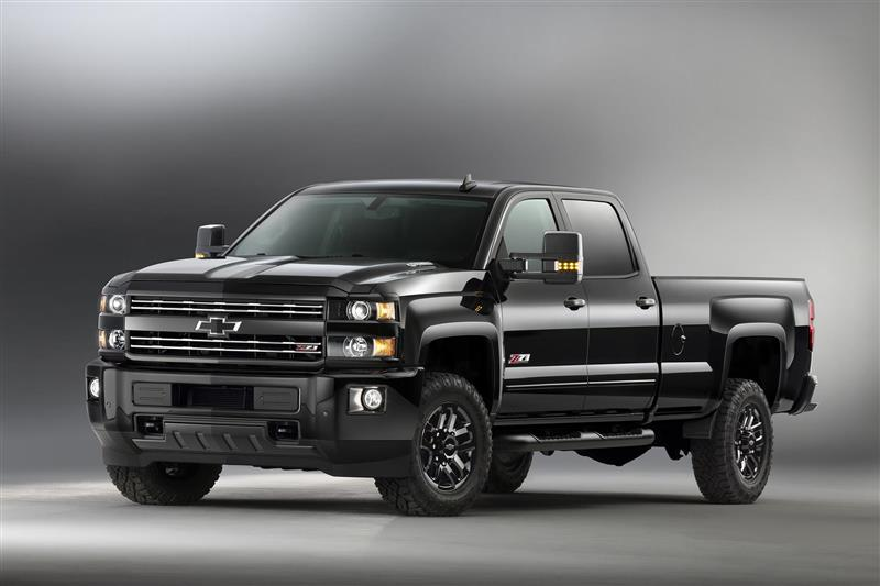 2016 Chevrolet Silverado Z71 Midnight Edition News and Information