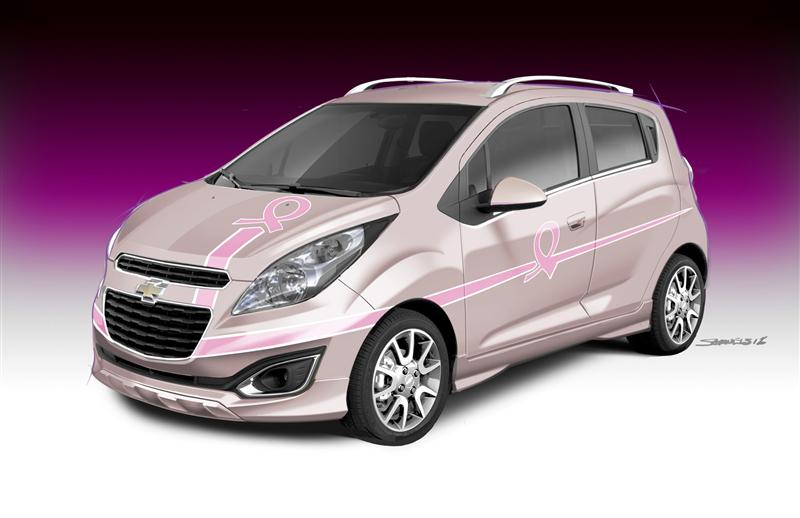 2013 Chevrolet Pink Out Spark Cancer Awareness Concept