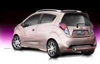 Chevrolet Pink Out Spark Cancer Awareness Concept