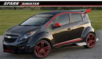 2013 Chevrolet Spark Sinister Concept image.