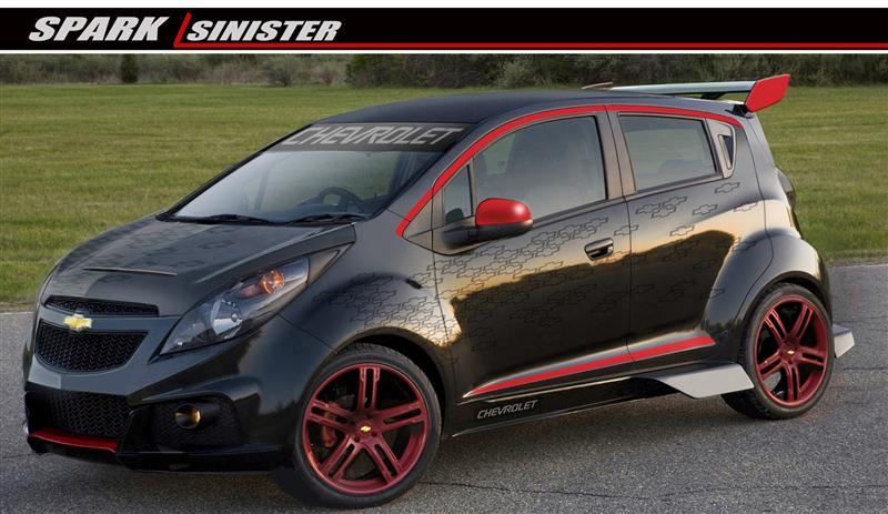 2013 Chevrolet Spark Sinister Concept