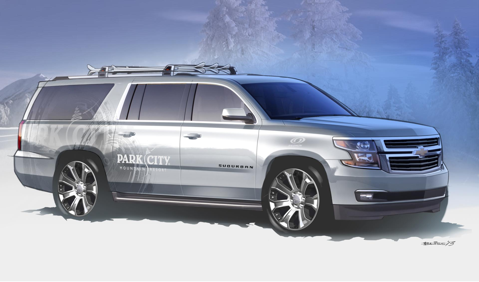 2013 chevrolet suburban half pipe concept news and information. Black Bedroom Furniture Sets. Home Design Ideas