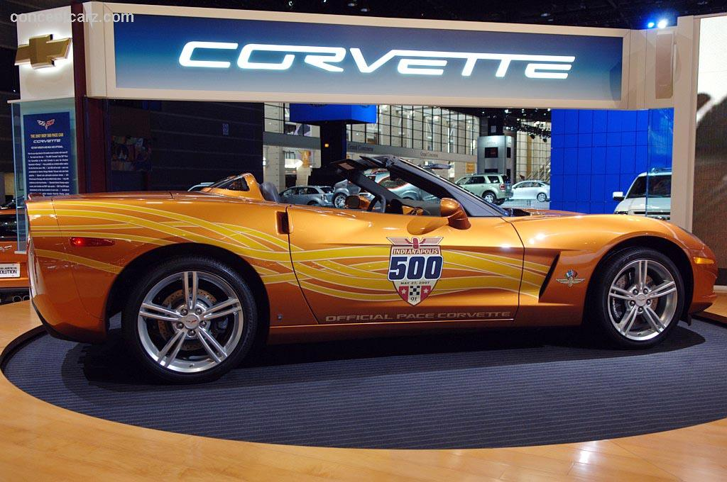 Auction Results And Sales Data For 2007 Chevrolet Corvette Indy 500