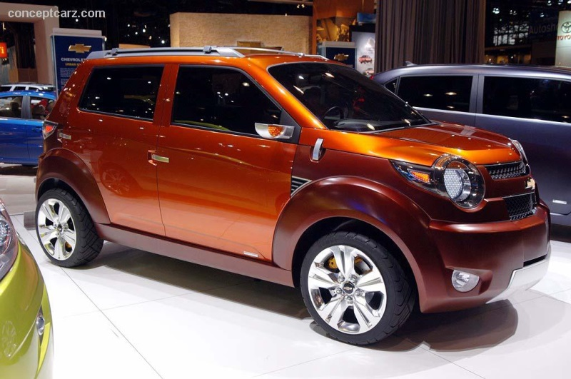 2007 Chevrolet Trax Concept Image Photo 5 Of 29