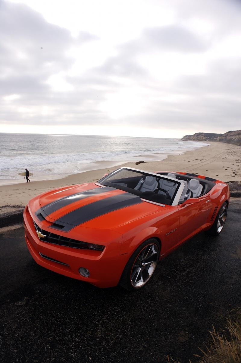 2008 chevrolet camaro convertible concept image. Black Bedroom Furniture Sets. Home Design Ideas