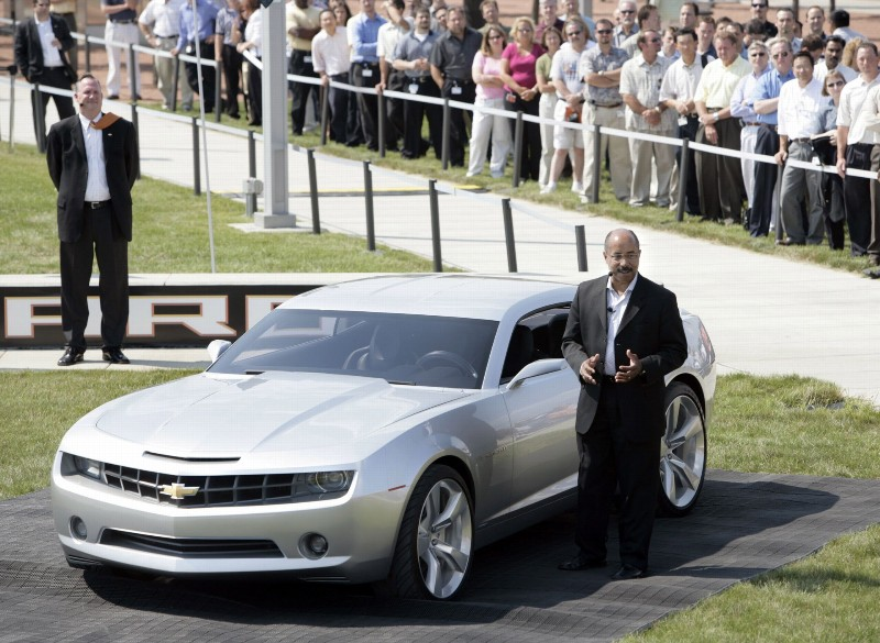 2006 Chevrolet Camaro Concept History Pictures Value Auction