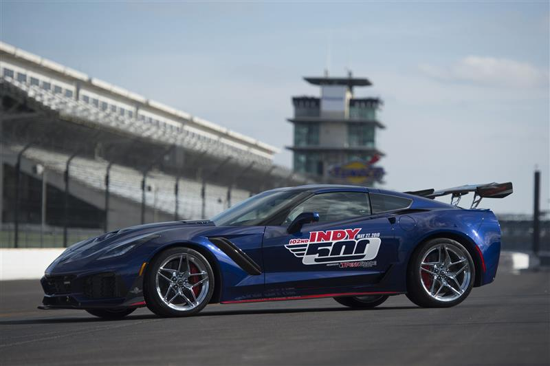 2018 Chevrolet Corvette Zr1 Indy 500 News And Information