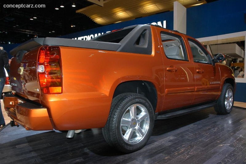 2006 chevrolet avalanche history  pictures  value  auction sales  research and news